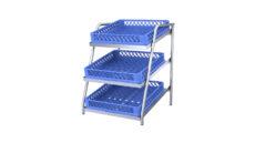 Tabletop shelves